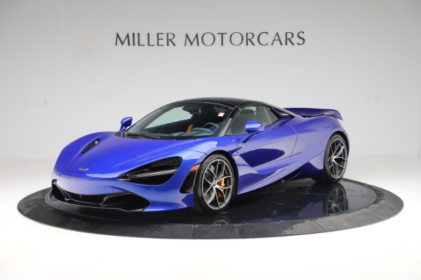 New 2020 McLaren 720S Spider Convertible for sale $364,090 at Alfa Romeo of Greenwich in Greenwich CT 06830 18