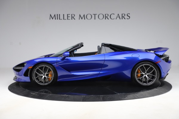 New 2020 McLaren 720S Spider Convertible for sale $364,090 at Alfa Romeo of Greenwich in Greenwich CT 06830 2