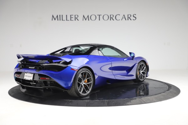 New 2020 McLaren 720S Spider Convertible for sale $364,090 at Alfa Romeo of Greenwich in Greenwich CT 06830 22