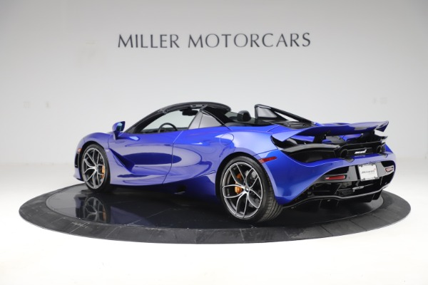 New 2020 McLaren 720S Spider Convertible for sale $364,090 at Alfa Romeo of Greenwich in Greenwich CT 06830 3