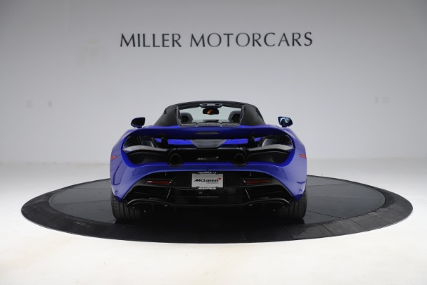 New 2020 McLaren 720S Spider Convertible for sale $364,090 at Alfa Romeo of Greenwich in Greenwich CT 06830 4
