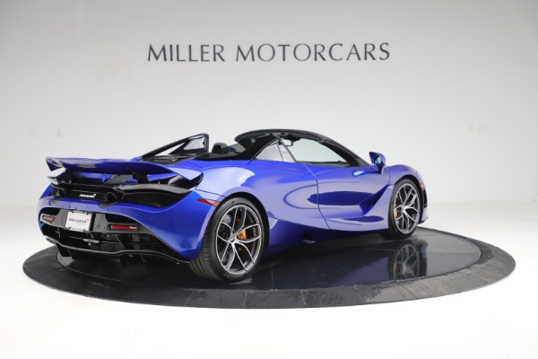 New 2020 McLaren 720S Spider Convertible for sale $364,090 at Alfa Romeo of Greenwich in Greenwich CT 06830 5