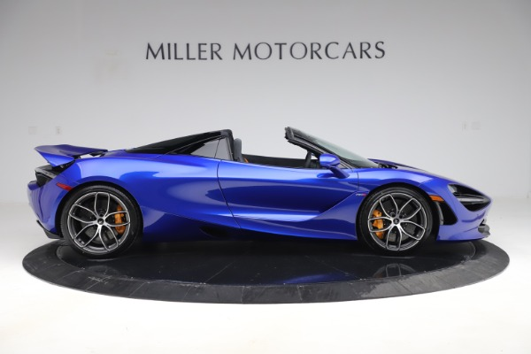 New 2020 McLaren 720S Spider Convertible for sale $364,090 at Alfa Romeo of Greenwich in Greenwich CT 06830 6