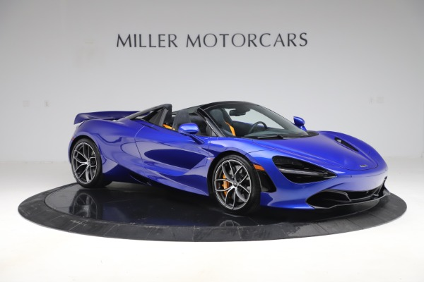 New 2020 McLaren 720S Spider Convertible for sale $364,090 at Alfa Romeo of Greenwich in Greenwich CT 06830 7