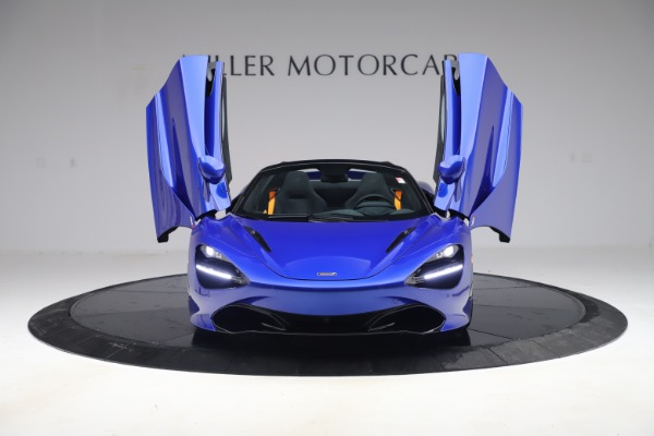 New 2020 McLaren 720S Spider Convertible for sale $364,090 at Alfa Romeo of Greenwich in Greenwich CT 06830 9