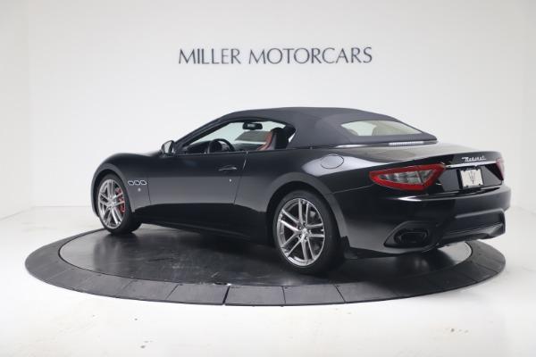 New 2019 Maserati GranTurismo Sport Convertible for sale Sold at Alfa Romeo of Greenwich in Greenwich CT 06830 15