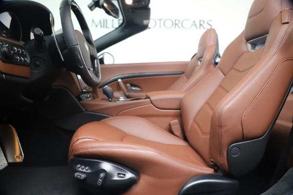 New 2019 Maserati GranTurismo Sport Convertible for sale Sold at Alfa Romeo of Greenwich in Greenwich CT 06830 20