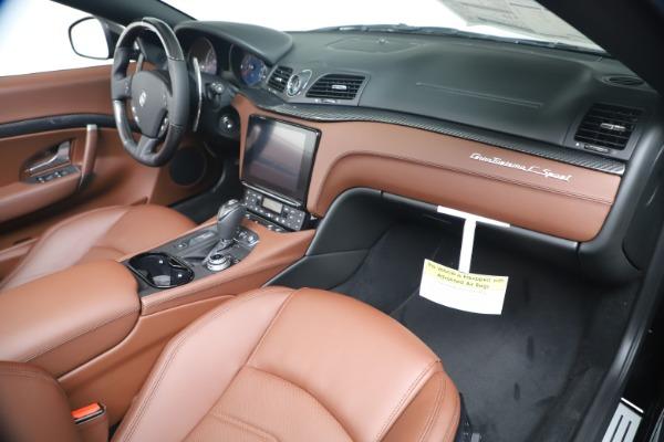 New 2019 Maserati GranTurismo Sport Convertible for sale Sold at Alfa Romeo of Greenwich in Greenwich CT 06830 26