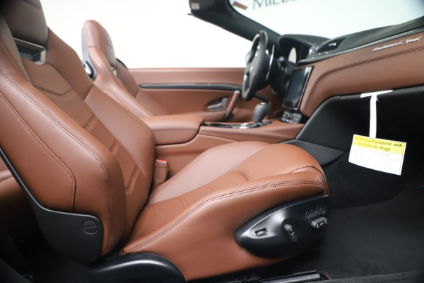 New 2019 Maserati GranTurismo Sport Convertible for sale Sold at Alfa Romeo of Greenwich in Greenwich CT 06830 27