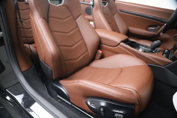 New 2019 Maserati GranTurismo Sport Convertible for sale Sold at Alfa Romeo of Greenwich in Greenwich CT 06830 28