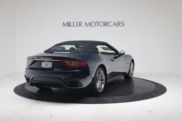 New 2019 Maserati GranTurismo Sport Convertible for sale Sold at Alfa Romeo of Greenwich in Greenwich CT 06830 16