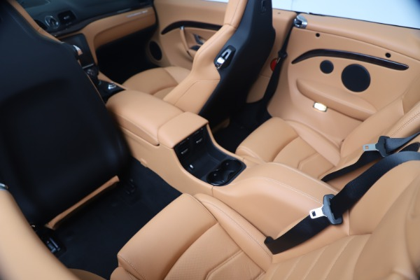 New 2019 Maserati GranTurismo Sport Convertible for sale Sold at Alfa Romeo of Greenwich in Greenwich CT 06830 25