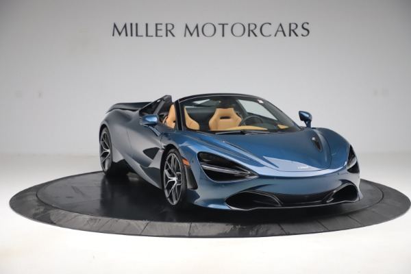 New 2020 McLaren 720S Spider Luxury for sale $380,835 at Alfa Romeo of Greenwich in Greenwich CT 06830 10