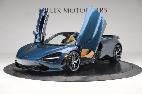 New 2020 McLaren 720S Spider Luxury for sale $380,835 at Alfa Romeo of Greenwich in Greenwich CT 06830 13