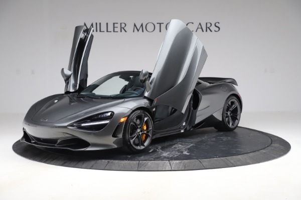 New 2020 McLaren 720S Spider Convertible for sale $332,570 at Alfa Romeo of Greenwich in Greenwich CT 06830 10