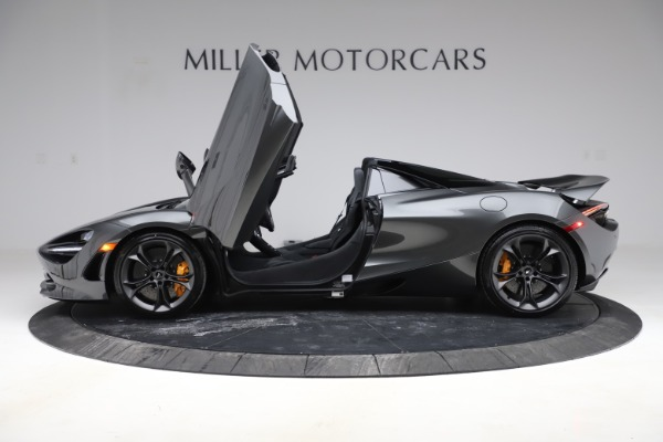 New 2020 McLaren 720S Spider Convertible for sale $332,570 at Alfa Romeo of Greenwich in Greenwich CT 06830 11