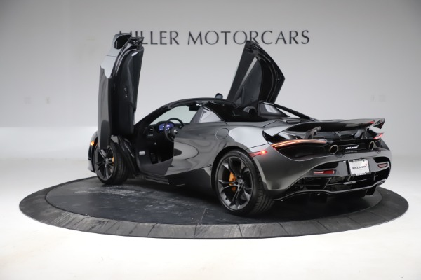 New 2020 McLaren 720S Spider Convertible for sale $332,570 at Alfa Romeo of Greenwich in Greenwich CT 06830 12
