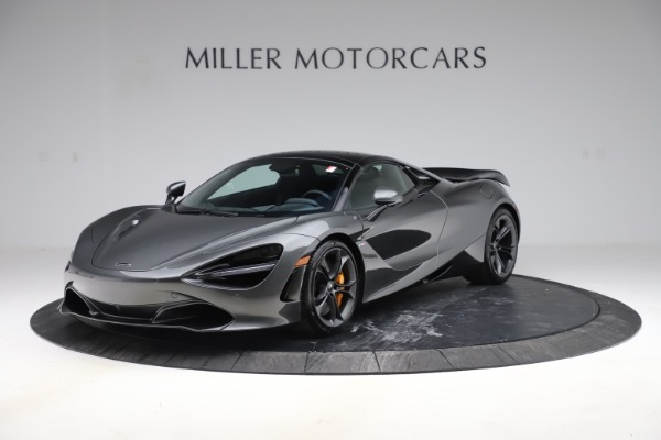 New 2020 McLaren 720S Spider Convertible for sale $332,570 at Alfa Romeo of Greenwich in Greenwich CT 06830 18
