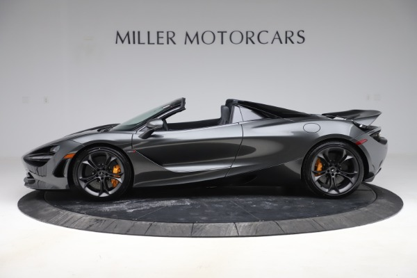 New 2020 McLaren 720S Spider Convertible for sale $332,570 at Alfa Romeo of Greenwich in Greenwich CT 06830 2