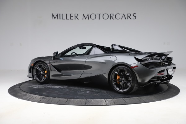 New 2020 McLaren 720S Spider Convertible for sale $332,570 at Alfa Romeo of Greenwich in Greenwich CT 06830 3
