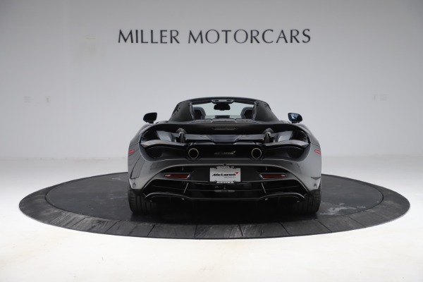 New 2020 McLaren 720S Spider Convertible for sale $332,570 at Alfa Romeo of Greenwich in Greenwich CT 06830 4