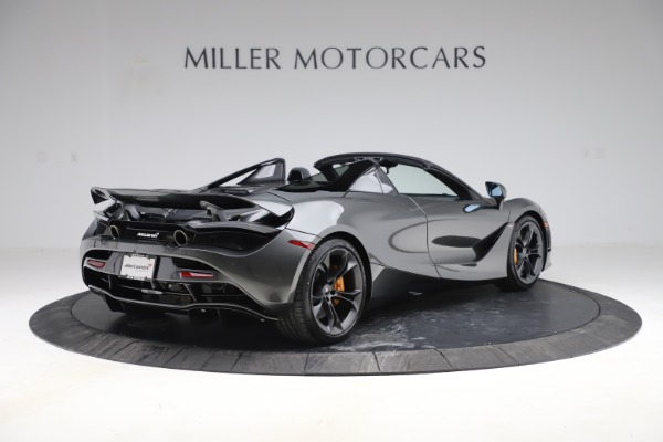 New 2020 McLaren 720S Spider Convertible for sale $332,570 at Alfa Romeo of Greenwich in Greenwich CT 06830 5
