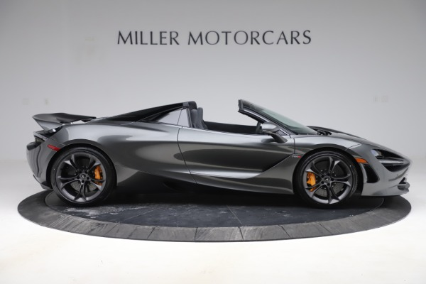 New 2020 McLaren 720S Spider Convertible for sale $332,570 at Alfa Romeo of Greenwich in Greenwich CT 06830 6