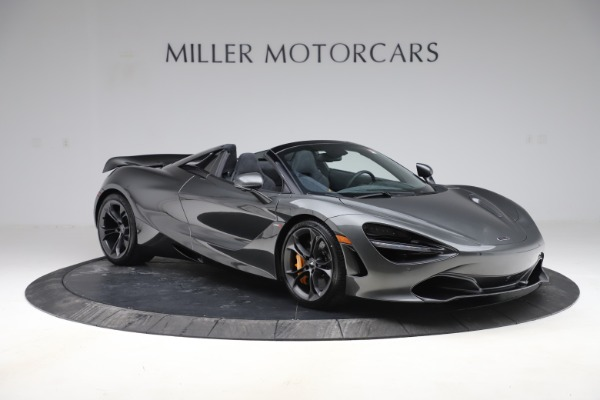 New 2020 McLaren 720S Spider Convertible for sale $332,570 at Alfa Romeo of Greenwich in Greenwich CT 06830 7