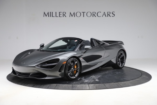 New 2020 McLaren 720S Spider Convertible for sale $332,570 at Alfa Romeo of Greenwich in Greenwich CT 06830 1