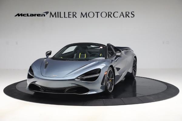 Used 2020 McLaren 720S Spider Convertible for sale Sold at Alfa Romeo of Greenwich in Greenwich CT 06830 2