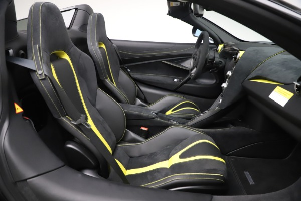 Used 2020 McLaren 720S Spider Convertible for sale Sold at Alfa Romeo of Greenwich in Greenwich CT 06830 25