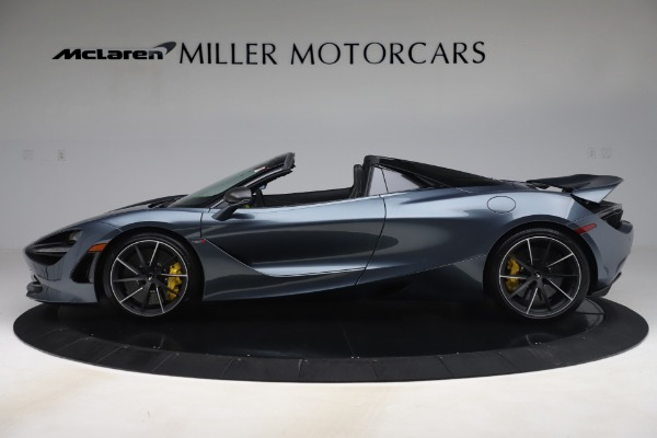 Used 2020 McLaren 720S Spider Convertible for sale Sold at Alfa Romeo of Greenwich in Greenwich CT 06830 3