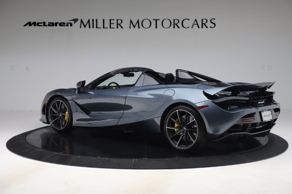 Used 2020 McLaren 720S Spider Convertible for sale Sold at Alfa Romeo of Greenwich in Greenwich CT 06830 4