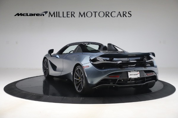 Used 2020 McLaren 720S Spider Convertible for sale Sold at Alfa Romeo of Greenwich in Greenwich CT 06830 5