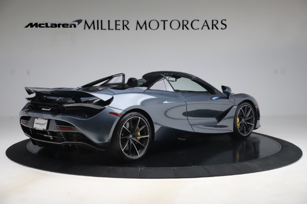 Used 2020 McLaren 720S Spider Convertible for sale Sold at Alfa Romeo of Greenwich in Greenwich CT 06830 8