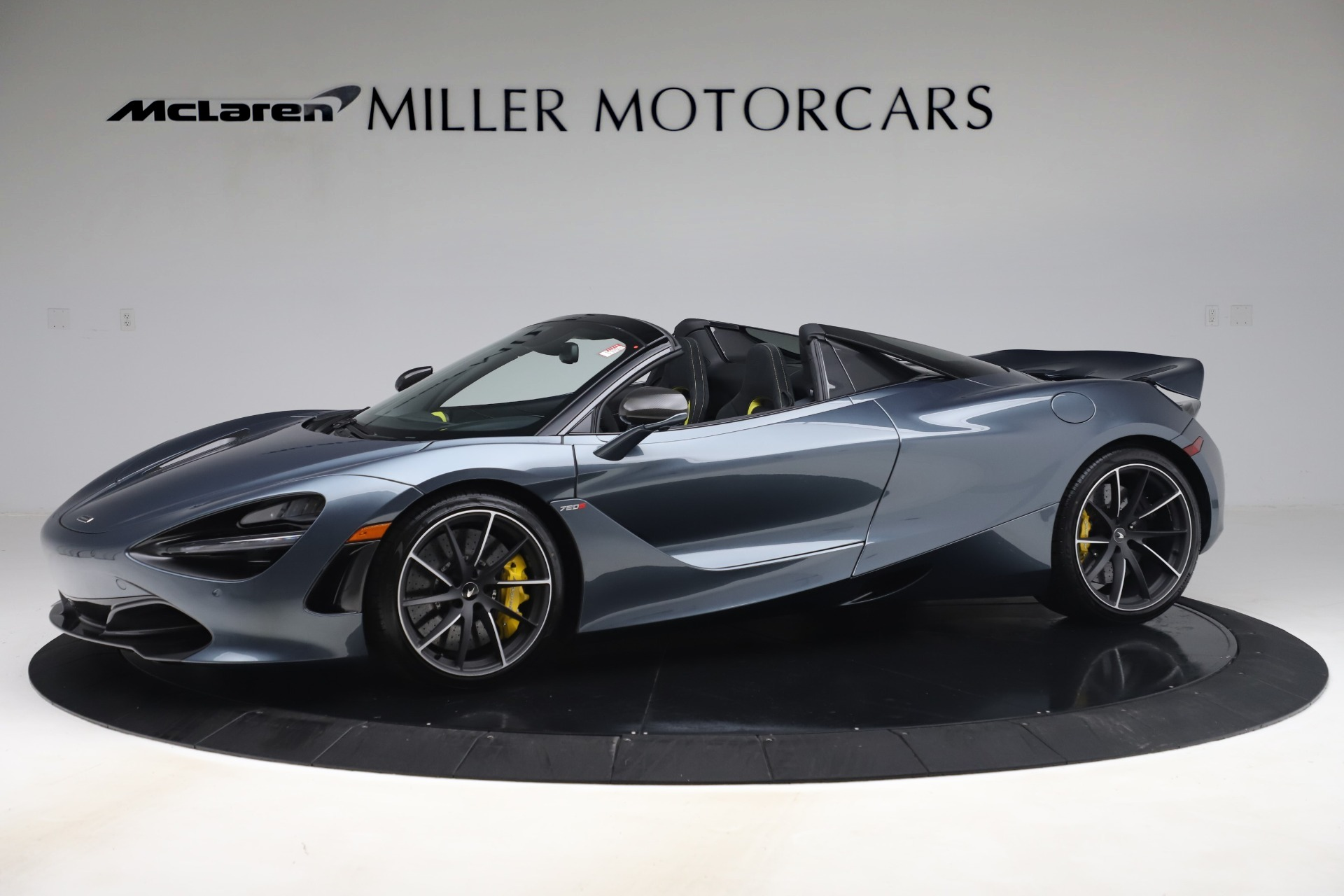 Used 2020 McLaren 720S Spider Convertible for sale Sold at Alfa Romeo of Greenwich in Greenwich CT 06830 1