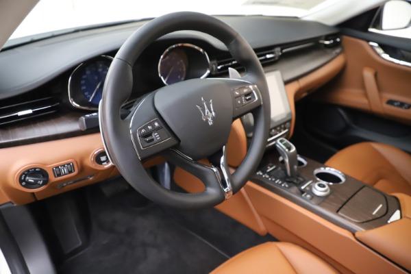 New 2019 Maserati Quattroporte S Q4 for sale $121,065 at Alfa Romeo of Greenwich in Greenwich CT 06830 13