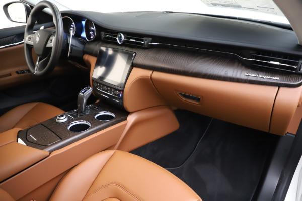 New 2019 Maserati Quattroporte S Q4 for sale $121,065 at Alfa Romeo of Greenwich in Greenwich CT 06830 22