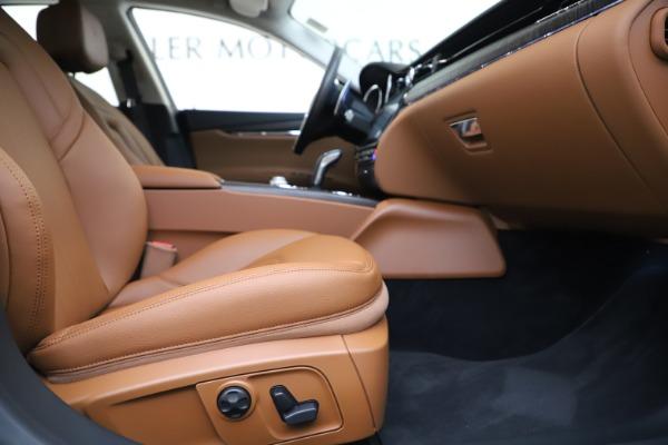 New 2019 Maserati Quattroporte S Q4 for sale $121,065 at Alfa Romeo of Greenwich in Greenwich CT 06830 23