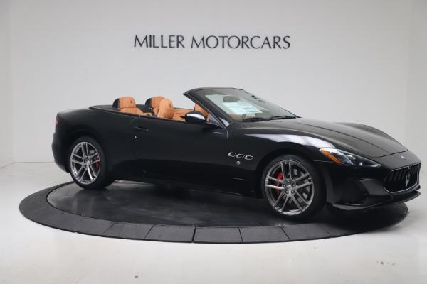 New 2019 Maserati GranTurismo Sport Convertible for sale $161,970 at Alfa Romeo of Greenwich in Greenwich CT 06830 10