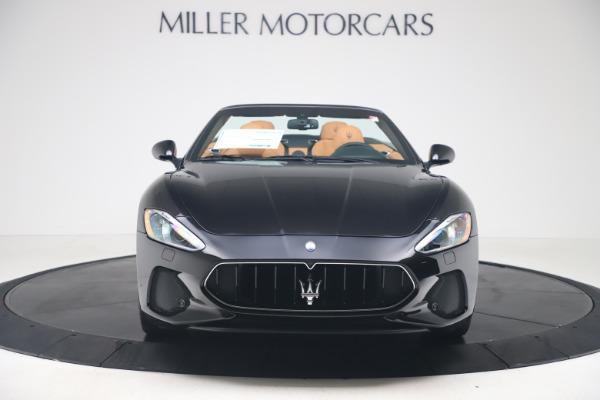 New 2019 Maserati GranTurismo Sport Convertible for sale $161,970 at Alfa Romeo of Greenwich in Greenwich CT 06830 12