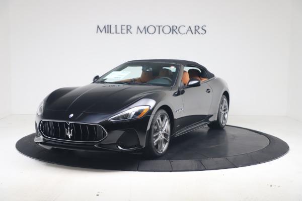 New 2019 Maserati GranTurismo Sport Convertible for sale $161,970 at Alfa Romeo of Greenwich in Greenwich CT 06830 13