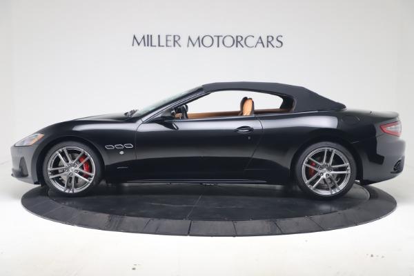 New 2019 Maserati GranTurismo Sport Convertible for sale $161,970 at Alfa Romeo of Greenwich in Greenwich CT 06830 14