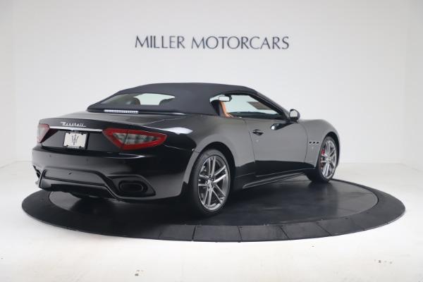 New 2019 Maserati GranTurismo Sport Convertible for sale $161,970 at Alfa Romeo of Greenwich in Greenwich CT 06830 16