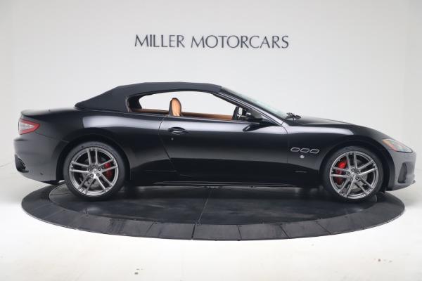 New 2019 Maserati GranTurismo Sport Convertible for sale $161,970 at Alfa Romeo of Greenwich in Greenwich CT 06830 17