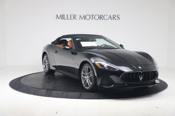 New 2019 Maserati GranTurismo Sport Convertible for sale $161,970 at Alfa Romeo of Greenwich in Greenwich CT 06830 18