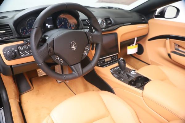 New 2019 Maserati GranTurismo Sport Convertible for sale $161,970 at Alfa Romeo of Greenwich in Greenwich CT 06830 19