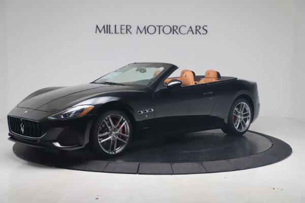 New 2019 Maserati GranTurismo Sport Convertible for sale $161,970 at Alfa Romeo of Greenwich in Greenwich CT 06830 2