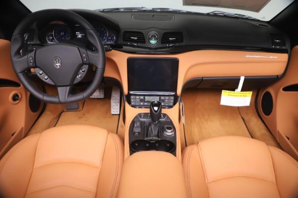New 2019 Maserati GranTurismo Sport Convertible for sale $161,970 at Alfa Romeo of Greenwich in Greenwich CT 06830 22