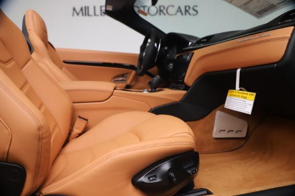 New 2019 Maserati GranTurismo Sport Convertible for sale $161,970 at Alfa Romeo of Greenwich in Greenwich CT 06830 27
